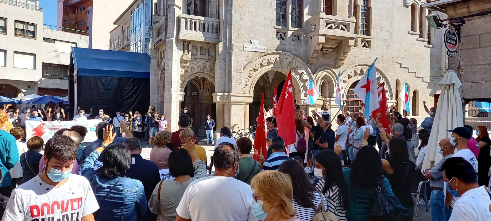 Protesta Luz Porriño