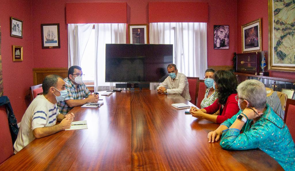 Diversidades Acolle y Concello de Tui estudian nuevas vías de colaboración