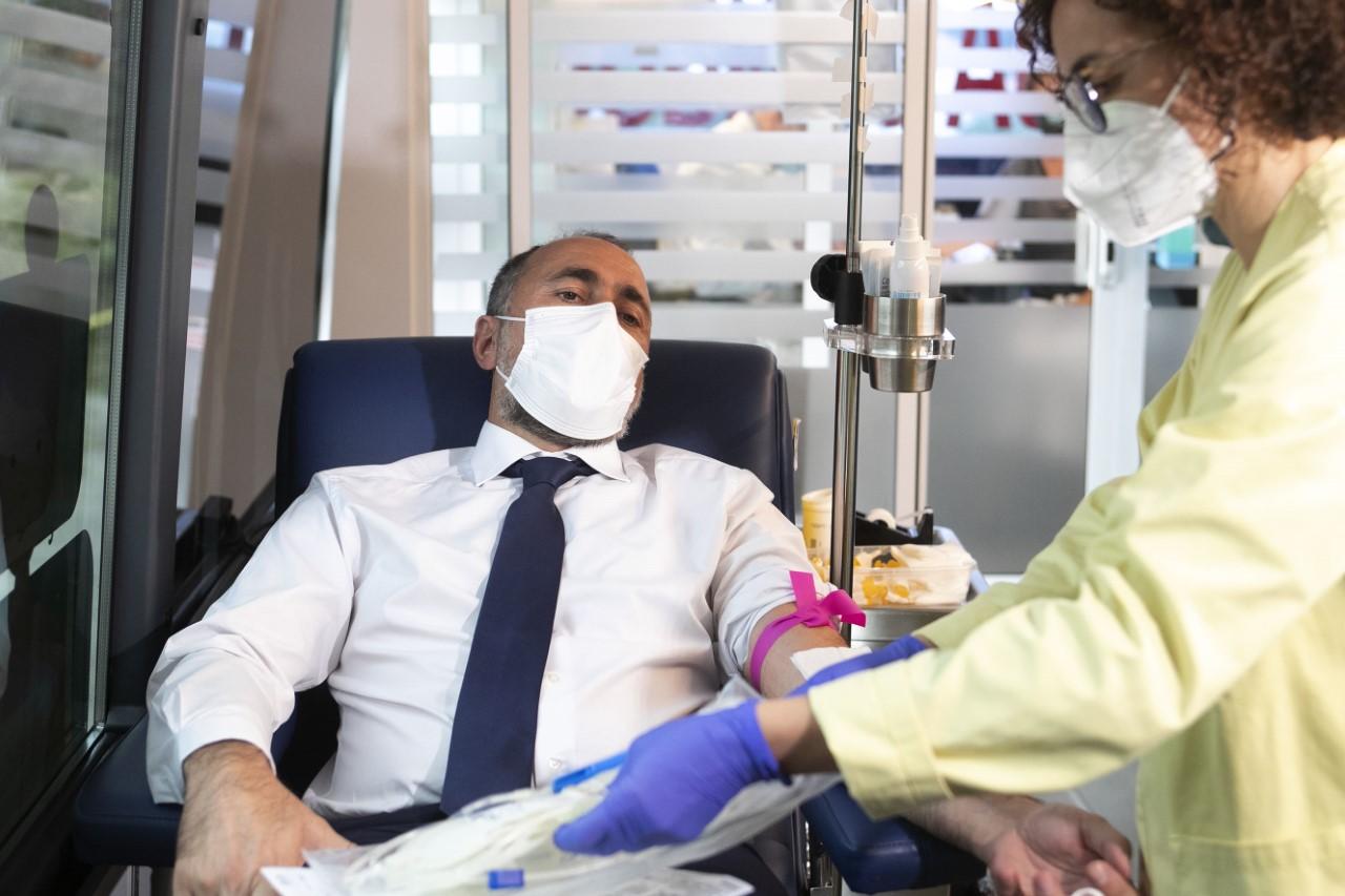 Galicia necesita entre 400 y 500 donaciones de sangre diarias